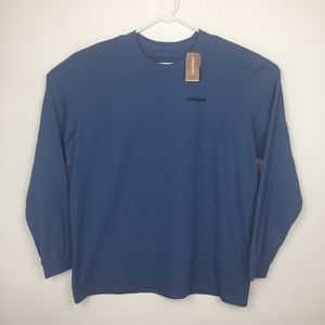 Patagonia Shirts - Patagonia Responsibilit-tee Light Blue T-Shirt XXL
